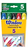 Crayola Washable Window Crayons - 5-count, (2 Pack)