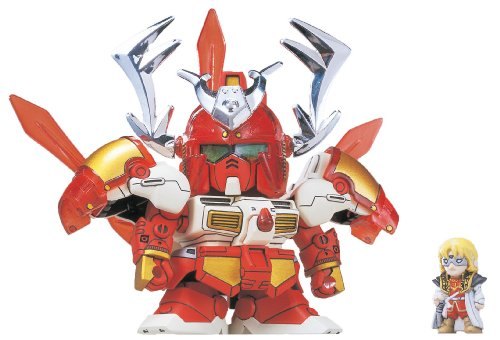 Model Kit Figure - Super Deformed BB Gundam Warrior #206 'Musha GP-04' - 1