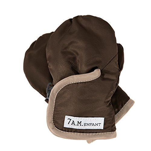 7AM Enfant Classic Mittens 500, Cafe/Beige, XX Large