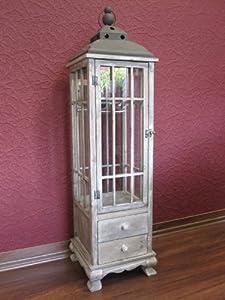 holz laterne antik braun riesige 126 cm gro tolle deko k che haushalt. Black Bedroom Furniture Sets. Home Design Ideas