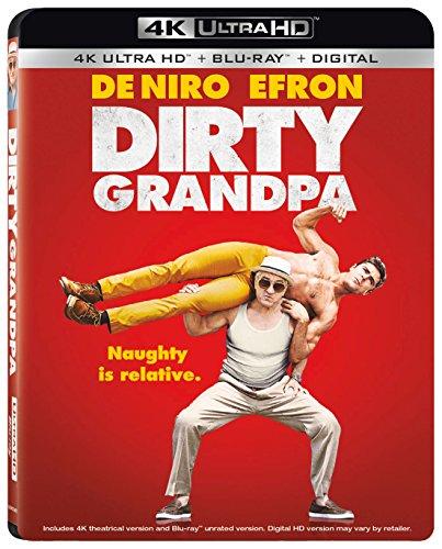 4K Blu-ray : Dirty Grandpa (With Blu-Ray, 4K Mastering, Widescreen, Dolby, AC-3)