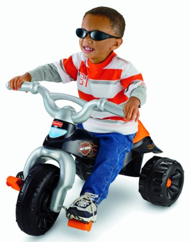 Find Discount Fisher-Price Harley-Davidson Motorcycles Tough Trike