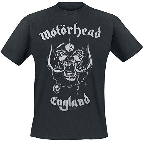 Motörhead Silver England T-Shirt nero S