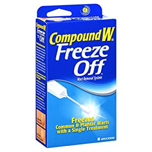Compound W wart freeze off