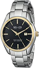 SO & CO New York  Men's 5101.4 Madison Stainless Steel Watch