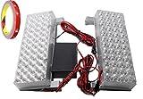 高輝度 LED 96灯 ストロボ フラッシュ ライト 赤&赤 12V 車載用