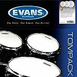 Evans ETP-G2CTD-S G2 (Coated) Standard Tom Pack 30,4 cm (12 Zoll), 33 cm (13 Zoll), 40,6 cm (16 Zoll) Felle