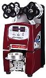 Automatic Bubble Tea Sealer Machine Electric Boba Plastic Cup Sealer Film LED Coffee