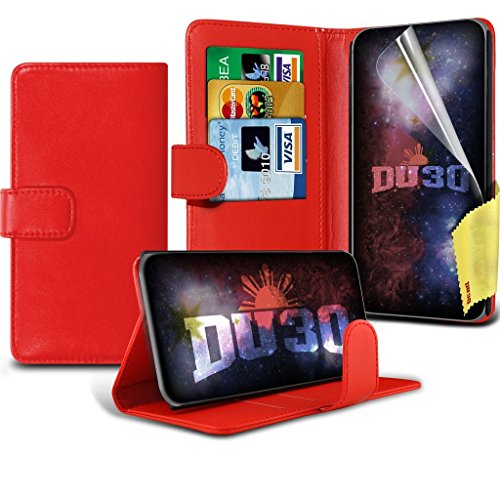 vodafone-smart-prime-7-case-red-bookstyle-pu-leather-wallet-movie-stand-flip-with-credit-debit-card-