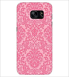 PrintDhaba Pattern D-2133 Back Case Cover for SAMSUNG GALAXY S7 (Multi-Coloured)