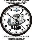 INTERNATIONAL 9400i SEMI-TRUCK WALL CLOCK-FREE USA SHIP!