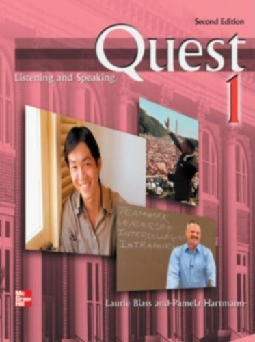 Quest 1 Listening and Speaking Student Book with Audio...