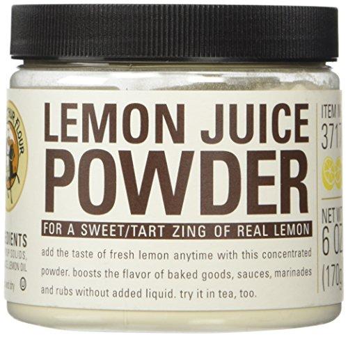 King Arthur Flour Lemon Juice Fruit Powder - 6 oz. (Fruit King compare prices)
