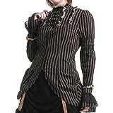 Camisa Elegante con Rayas - Tallas - M
