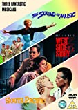 The Musicals Collection (The Sound Of Music / West Side Story / South Pacific) [DVD]