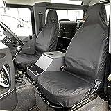 Land Rover Defender (90 110) - Housse De Siège Avant Taillé (1983-2007) Noir