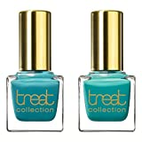 Treat Collection Perfect Pair Natural Nail Polish Duo, Outdoors and Mint Julep, 2 Count