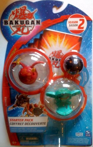 BAKUGAN Battle Brawlers Starter Pack New Vestroia Season 2