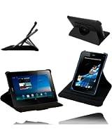 Etui Luxe Rotatif 360° Noir pour Acer Iconia A1-810 + STYLET et 2 FILMS CADEAUX !...