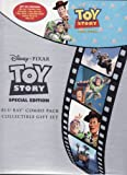Toy Story Disney Pixar LIMITED EDITION GIFT SET Includes 1 Disc Blu-Ray, 1 Disc DVD, Collectible Book, Sticker Book and Litho Set