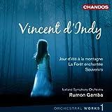 echange, troc  - Vincent d'Indy : Jour d'été à la montagne - La Forêt enchantée - Souvenirs (Oeuvres orchestrales vol. 1)
