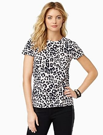 Juicy Couture Leopard print Graphic Tee