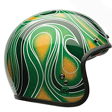 Bell Casques 7057103 Street 2015 Custom 500 SE Adult Casque, Chem Candy Mean Vert, Small