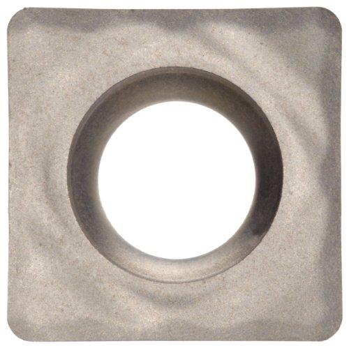 Sandvik Coromant SCGX Carbide Turning Insert, H10 Grade, Uncoated, Square Shape, AL Chip Breaker, 3(2.5)2 Insert Size, 0.1563