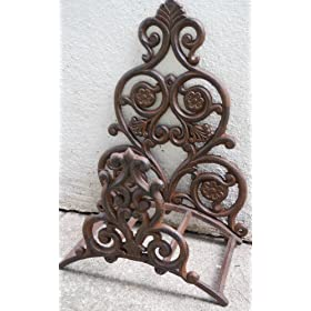 Fancy Iron Garden Hose Holder Wall Hose Hanger Reel