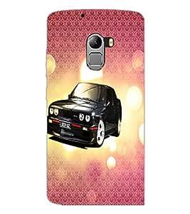 PrintDhaba Car D-3430 Back Case Cover for LENOVO K4 NOTE A7010 (Multi-Coloured)