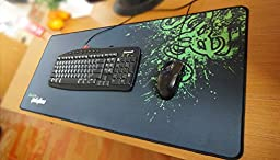 E-Blue Mazer Gaming Mouse Pad, Extra-Large, 36 x 11.5 Inches (EMP004-XL)