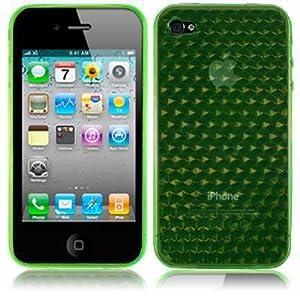 iPhone 4S / iPhone 4G Gel Case - Green