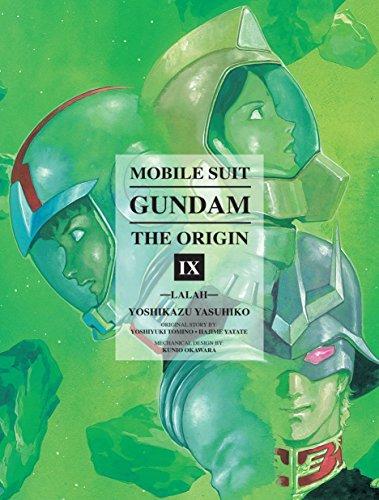 Mobile Suit Gundam: THE ORIGIN, Volume 9: Lalah [Yasuhiko, Yoshikazu] (Tapa Dura)