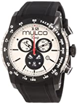 "Mulco Unisex MW1-29878-021 ""Deep Scale"" Stainless Steel Casual Watch"