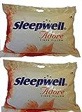 Sleepwell Adore Fibre Pillow Pack of 2