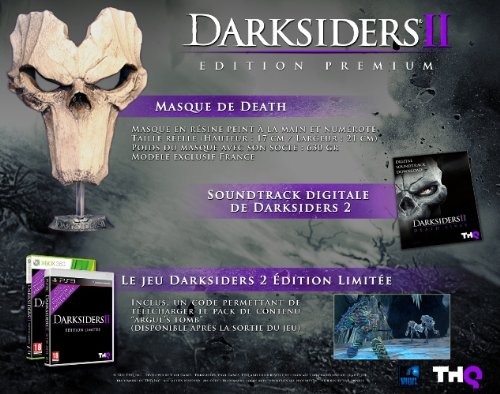 Darksiders 2 ii special hardcover limited edition udon art book.