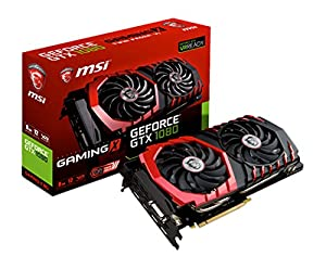 MSI オリジナルクーリングシステム『TWINFROZR VI』搭載 GeForce GTX 1080グラフィックボード GeForce GTX 1080 GAMING X 8G