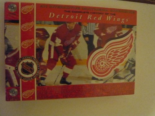 THE COMPLETE HISTORY OF THE DETROIT RED WINGS WINDOWS 95-98 & MACINTOSH