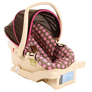 Cosco Juvenile Comfy Carry Infant Seat, Bloomsbury (Discontinued by Manufacturer)