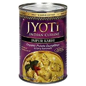 Jaipur Karhi Organic Potato Dumplings In Spicy Buttermilk Sauce 425 Gram Cans Pack Of 12 from Jyoti