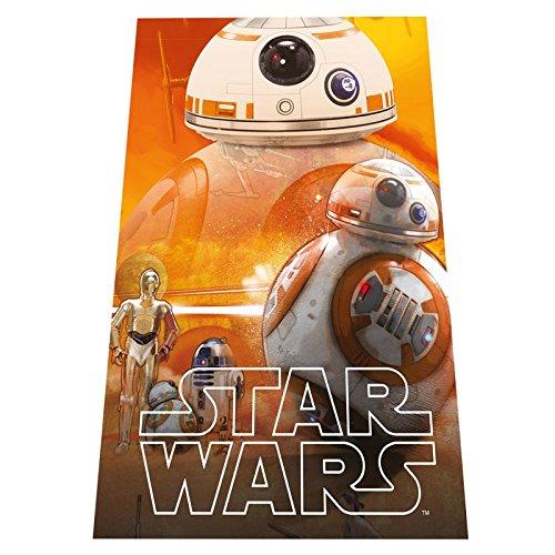 Star Wars BB8 Plaid in PILE Coperta Bambina 100 x 150 cm