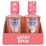 6 x Listerine Smart Rinse For Kids 6+ Mild Berry 250ml
