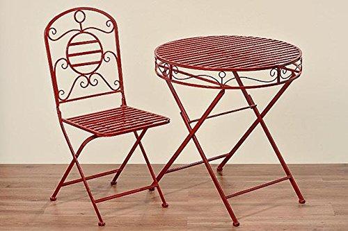 Esstisch Capri Farbe: Rot günstig online kaufen