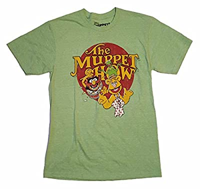 The Muppet Show Kermit Fozzie Animal Graphic T-Shirt