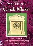 Colosseum Clock Matchcraft matchstick model craft kit Clock Maker -