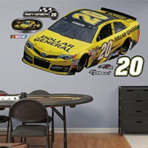 NASCAR Matt Kenseth Car Real Big Fathead Wall Graphic by Fathead