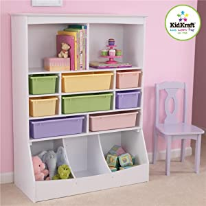 KidKraft Wall Storage Unit, White by KidKraft