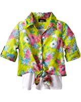 Amy Byer Big Girls' Blouse with Tank