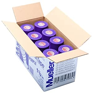 Mueller M Tape Colored - Case - Purple by MTape