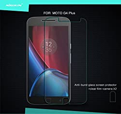 Nillkin Tempered Glass for Motorola Moto G4 & G4 Plus Amazing H Explosion Proof Screen Protect